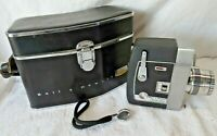 Vtg BELL & HOWELL Director Series ZOOMATIC 8mm Movie Camera 414-414P w/Case NICE