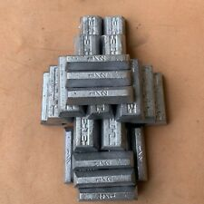 10+ Pounds Bullet Casting Metal Lead Ingots 11-15 BHN **FREE SHIPPING**