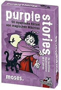 Black Stories Junior - Purple Stories Children Detective Puzzles
