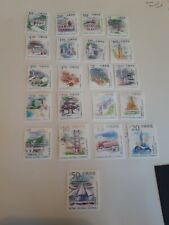 HONG KONG  STAMPS LANDMARKS AND TOURIST ATTRACTIONS 1999/2002 MINT (M254)