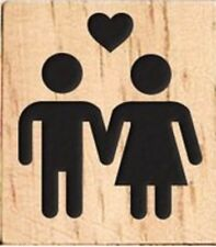 INDIVIDUAL WOOD SCRABBLE TILES! 0.25 CENTS EACH. HUSBAND WIFE SYMBOL