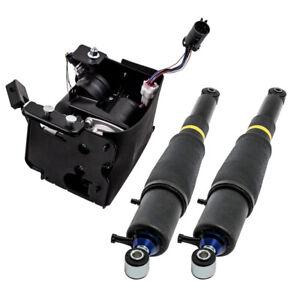 3PCS Air Suspension shocks Compressor Pump For Escalade Suburban Yukon 949 000