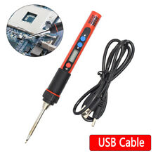 Mini Portable Digital Electric Soldering Iron Welding Pen Tool Set / USB Cable