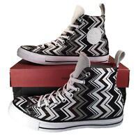 Converse X Missoni Chuck Taylor All Star High Top Sneaker BLACK $125 53383C