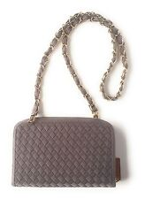 NEW Messenger Crossbody Bag | Wallet On Chain, TAUPE GREY colour