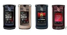 "Original 2.2"" 3G Motorola RAZR2 V9 2.0MP 2GB WCDMA Unlocked Flip Cellular Phone"