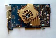Gigabyte GV-N66T128D nVidia GeForce 6600GT 128MB AGP VGA  - Test OK!