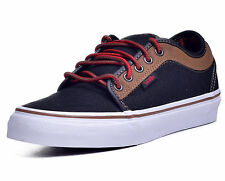 Vans Chukka Leather Denim Low Top Skateboard Shoes Size US M 6.5 W 8 EUR 40