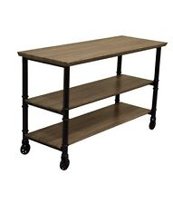 TV Cabinet Coffee Table Stand Home Furniture Entertainment Unit Brown Black