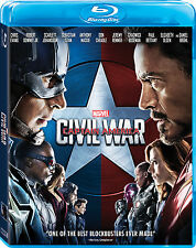 Captain America: Civil War (Blu-ray)(Region Free)
