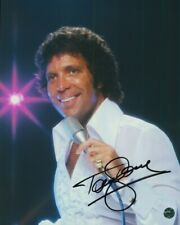 Tom Jones Autographed 8X10 Photo COA Singer Its Not Unusual Shes a Lady Delilah