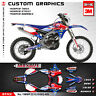 Custom Graphics Kit Decals for Yamaha WR250F WR450F YZ450FX 2015 2016 2017 2018