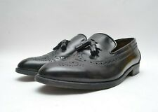 Vintage Bally Mens Shoes Quality Leather  Loafers Wingtip Tassle