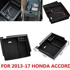 Center Console Armrest Storage Box Organizer Tray For Honda Accord 2013-2017 New