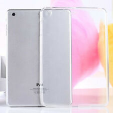 For iPad Air/Mini 1 2 3/Pro 9.7 Clear Soft TPU Rubber Skin Protective Case Cover