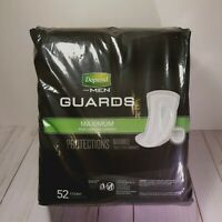 Depend Incontinence Men Cup Guards Maximum Absorbency Protection 104 Count 2PK