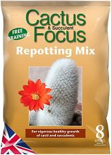 Cactus and Succulent Focus Repotting Mix Compost - 8 Litres