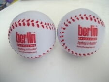 UNIQUE NOVELTY (2) BASEBALLS SHAPED STRESS RELIEF RELAXATION SQUEEZIE TOY NEW