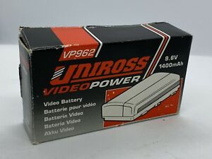 Uniross Video Power Video Battery Untested For Parts Not Working