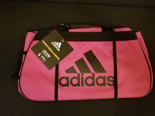 Adidas Diablo Pink Black Small Duffel Bag Gym Bag