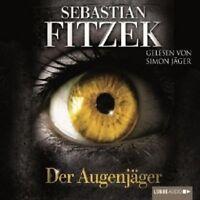 """SEBASTIAN FITZEK """"DER AUGENJÄGER"""" 4 CD HÖRBUCH NEU"""