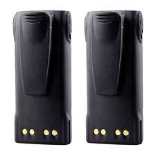 2 x 2000mAh 7.4V Battery for Motorola GP140 GP320 GP328 GP338 GP340 GP360 GP640