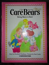 BEING BRAVE IS BEST A Tale From The Care Bears (Hardcover, 1984) Winthrop