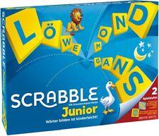 Scrabble Junior Brettspiel für Kinder, Kinderspiel, Wörterspiel, Lernspiel