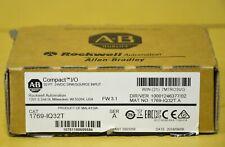2018 New Open Box Allen Bradley 1769-IQ32T 1769-1Q32T Compact I/O Input Module
