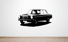 Mercedes-Benz W114 / W115 /8 Saloon Car Wall Art Decal Graphic Sticker Retro Big