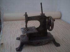 Rare Old Vintage toy sewing machine metal