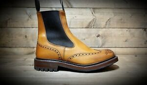 TRICKERS // Henry // Handmade 1001 Burnished Tan Chelsea Boots // REDUCED