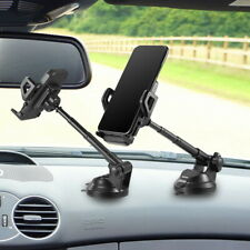 360? Car Mount Windshield Dashboard Suction  Cup Phone Holder For Cell Phone GPS