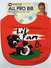 Baltimore Orioles Wincraft Littlest Lil Fan Baby Bib Infant All Pro Red MLB