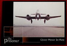 THE PRISONER, VOLUME 2 - Card #40 - Gloster Meteor Jet Plane - Factory Ent. 2010