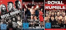 3 DVDs * WWE - ROYAL RUMBLE 2015-2017 IM SET - Undertaker, John Cena # NEU OVP &