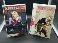 Edge of Spider-Verse 2 & Spider Gwen 1 - Land & Hughes Variants MEXICO EDITIONS