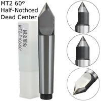 MT2 Precision Dead Center 60 Degree Morse Taper #2 Lathe Center Carbide 0.000394