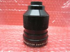 """EARLY VINTAGE BELL & HOWELL PROJECTION LENS PROJECTION 16MM 2"""" F/1.6 MADE IN USA"""
