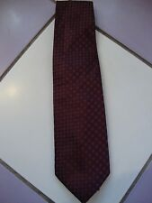 George plum patterned polyester tie, vgc, lovely tie