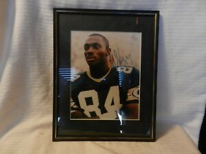 Sterling Sharpe #84 Green Bay Packers Signed Photograph framed and matted