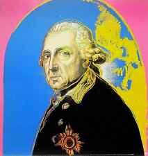 Andy Warhol - Friedrich der Große - Offset - hochwertig. Kunstdruck - 65x61.6cm