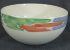Block Palette Coupe Soup Cereal Bowl Spal Pastel Color Rim Jack Prince Portugal