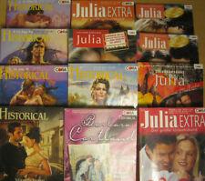 10 Romane, Romanhefte Julia, Historical, Cartland uvm.