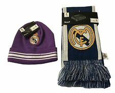 Real Madrid Scarf Reversible and Beanie Set Skull Cap Hat Cristiano Ronaldo 7