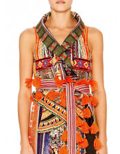 Camilla Franks Dance Of The Dao Vest With Stitch Detail Collar size 1