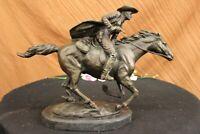 "American Bronzes ""Cowboy"" Solid Bronze Statue Sculpture by F. Remington  Figure"