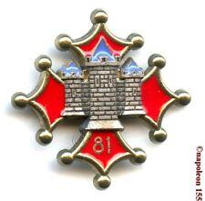 INFANTERIE. 81 eme Rgt Infanterie,RI. H.111. Fab. Delsart