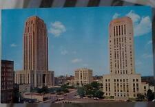 Vintage Color Photo Postcard, Downtown, Kansas City MO, VG CND