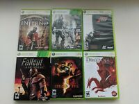 Xbox 360 Lot Of 6 Games Good Titles Complete W/ Manual Fallout Resident Evil etc